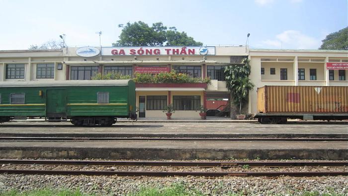 Báo giá vận chuyển hàng lẻ từ ga Giáp Bát đến ga Sóng Thần.